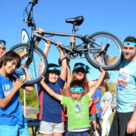 Build a Bike corporate team building activities for children's charity