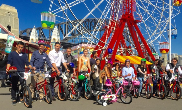 Team Building Bikes from Westpac Graduates to Corporate and future Industry Leaders