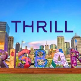 brisbane amazing race thrill team building activities sign