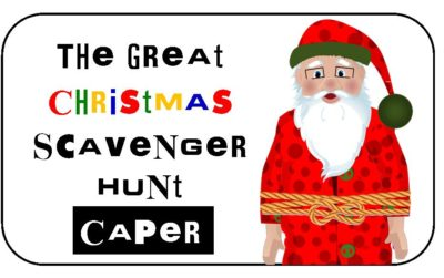 finding santa on a treasure hunt christmas special in Sydney and Brisbane Gold Coast