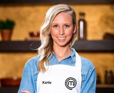 Karlie Verkerk Master Chef Cooking Celebrity available through THRILL events