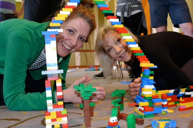 Lego-team-building-fun team building activities in the Blue Mountains and Gold Coast next