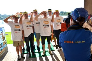 Team Building photographer at One Steel amazing race Hunter Valley