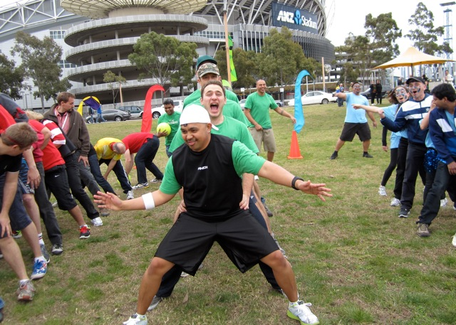 Sydney Olympic Park team building activities mini Olympics Games