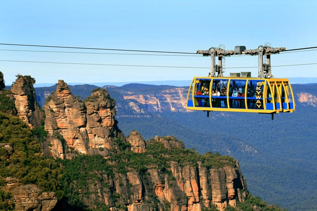 blue mountains activities scenic railway 3 sisters thrill