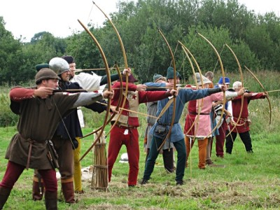 medieval team building archery games