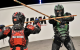team building gamer with armour