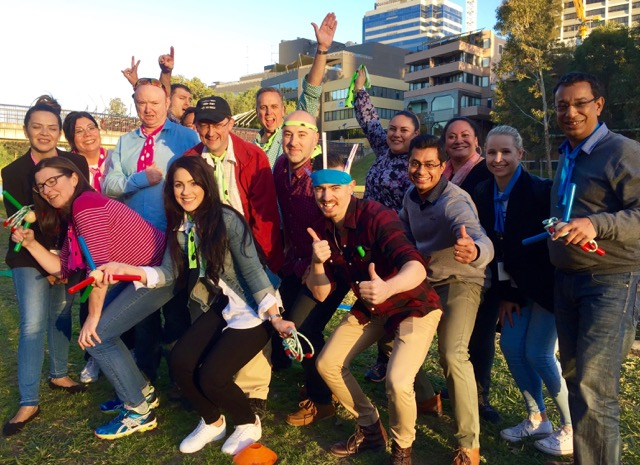 Team Building Games in Sydney, Hunter Valley, Blue Mountains and Beyond!