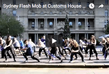 GSK staff team building Flash Mob Sydney Harbour Opera House by THRILL