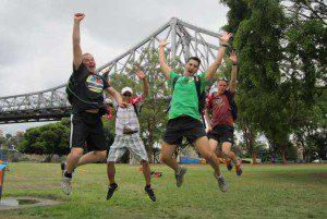 Brisbane Amazing Race Team Building Activities at Botanic Gardens