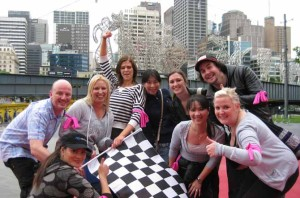 Amazing Race Team Building Activities in Melbourne at Federation Square