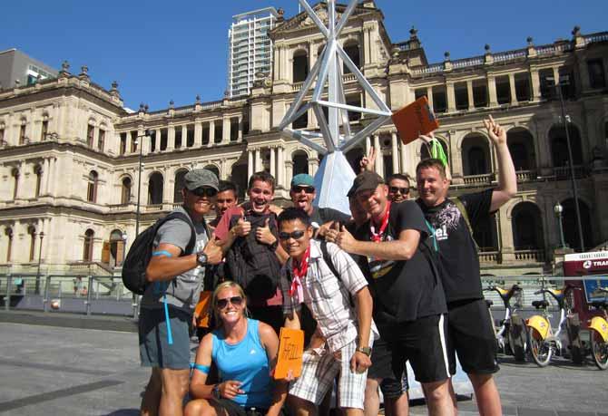 Brisbane Fun Amazing Race Treasury Building Brisbane CBD
