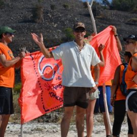 Survivor Team Building Activities Tribal Flags Created