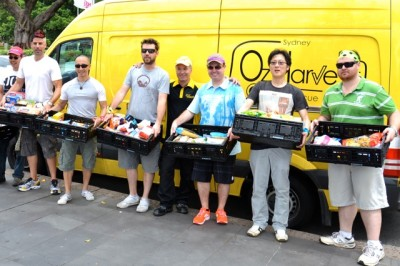 Specialised Hampers donated to OzHarvest and other Second Bite Charity Organisations