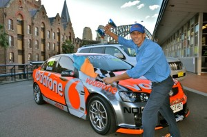 Thrill amazing race Sydney group activities with Vodafone race car in The Rocks and winning free offers