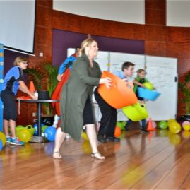 fun team building activities and team games indoor Sydney offices