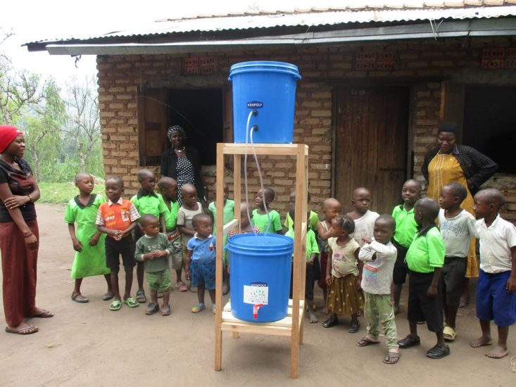Water works charity team building csr activities provide clean water to African villages and remote Australian communities by corporate groups