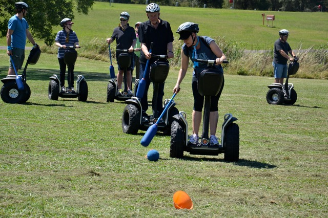 Blue Mountains team building fun activities and segways to ride on amazing races along The Fairmont Resort