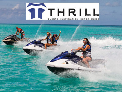 Thrill water sports experiences to play on the water dfrom Jet Skis to Jet Boats and Sailing Craft