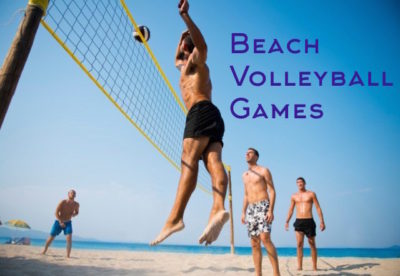 beach volleyball games on the Gold Coast and Surfers Paradise