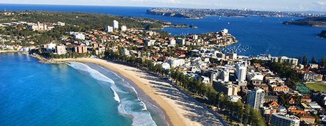 Manly Beach Thrill activities to enjoy team building and conferences from the Novotel Manly and Sebel Resort