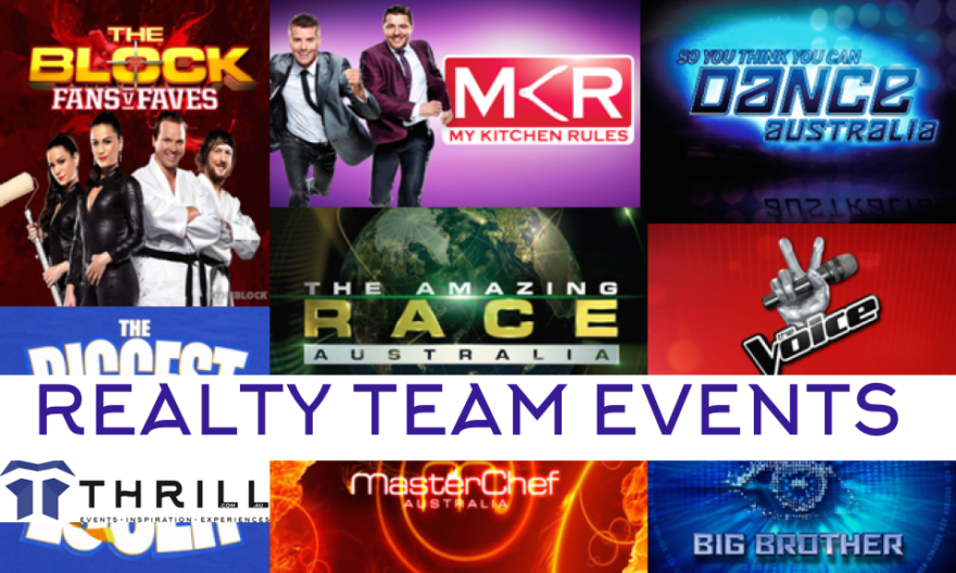 Realty TV hits the Team Building Scene with Thrill event specialist taking the reins to excite corporate groups experiences