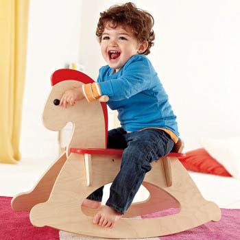 rocking horse fun team building flat pack during the melbourne cup festivities