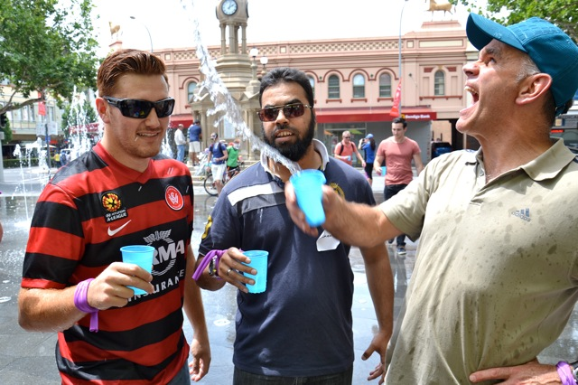 Sydney Water team building activities in Parramatta with Thrill events for Christmas Fun