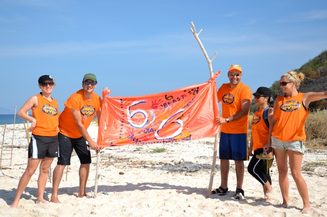 survivor team building activities flag making