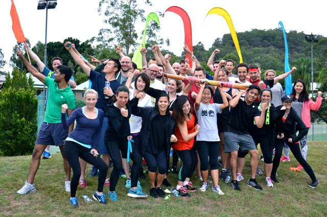 Team building Survivor corporate challenges in Sydney conference Retreats