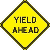 amazing race team building yield sign