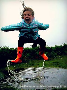 wet weather team building back up plan activities that enjoy jumping puddles in rain