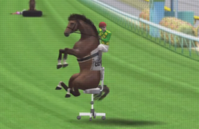 Office games is Horse Play