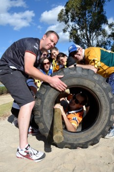 Corporate Team Building Obstacle Course Commando Sydney Olympic Park