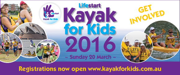 Sydney Team Building Activity Kayak For Kids Supporting Life for Children