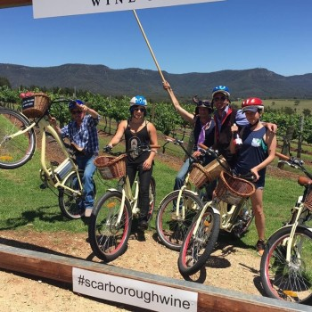 Hunter Valley Cycling wine tastings on Electric Bikes