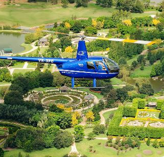 hunter valley helicopter team building flight activity