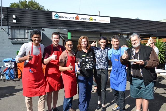 Charity Cooking Team Building Activities in Sydney and Wollongong