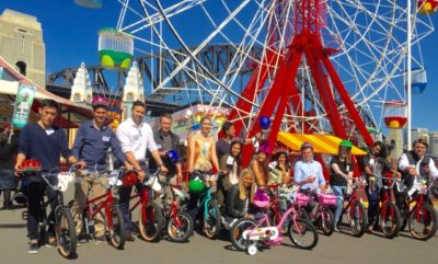 Westpac graduates Charity Team Building Bikes for Tikes Children's Charities by THRILL