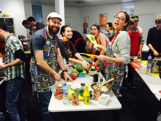 Customer Experience Charity Team Building Cooking Event