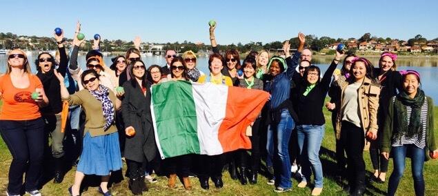 Italian Job team building Sydney corporate event