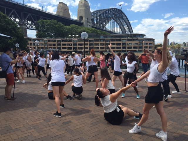 Sydney Harbour Opera House Flash Mob Wedding Marriage Proposal with 30 Dancers Performance Surprise