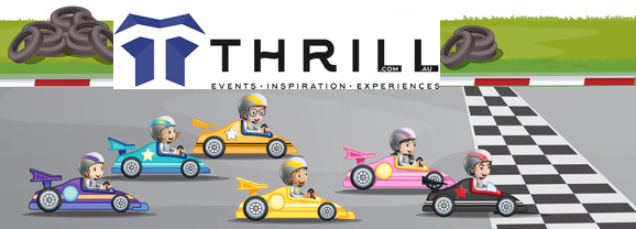 Get into the Thrill games of Billy cart and car or Kart racing competitions for corporate events for all groups in Australia