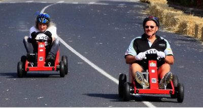 billy-cart building and racing bill karts for heart foundation and fun whilst team building with corporate groups in Sydney and Brisbane