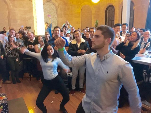 Deloitte team building Sydney Trivia Champions of Fun Events