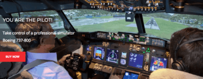 Flight experience simultaion team building on boeing 737 - 800 in Sydney