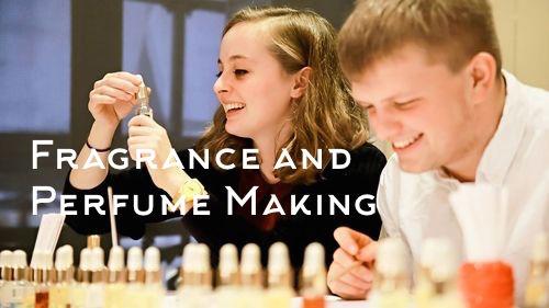 fragrance making team building activity sydney