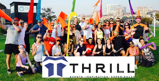 SENSATIONAL FUN – Inspiring Events, Group Activities,  Experiences created by THRILL.com.au