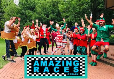amazing race sydney christmas activities