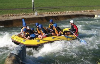 White Water Summer Corporate Events Adventure Packages Gives your Team A Thrill